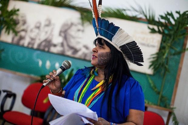 Sônia Guajajara (Foto: Reprodução / Facebook)