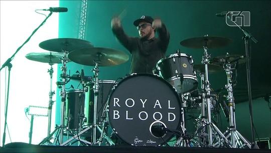 Royal Blood dá o sangue em show pesado de rock 'bate cabeça' no Lollapalooza