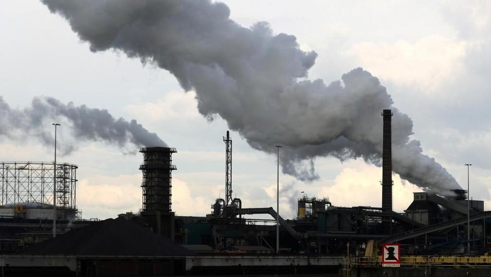 Aquecimento global afetará saúde das novas gerações — Foto: Reuters/Yves Herman/File Photo