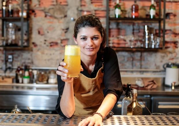 Adriano Pino, a bartender do ano (Foto: Divulgação)