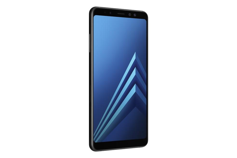 Galaxy A8+ preto, da Samsung (Foto: Divulgação)