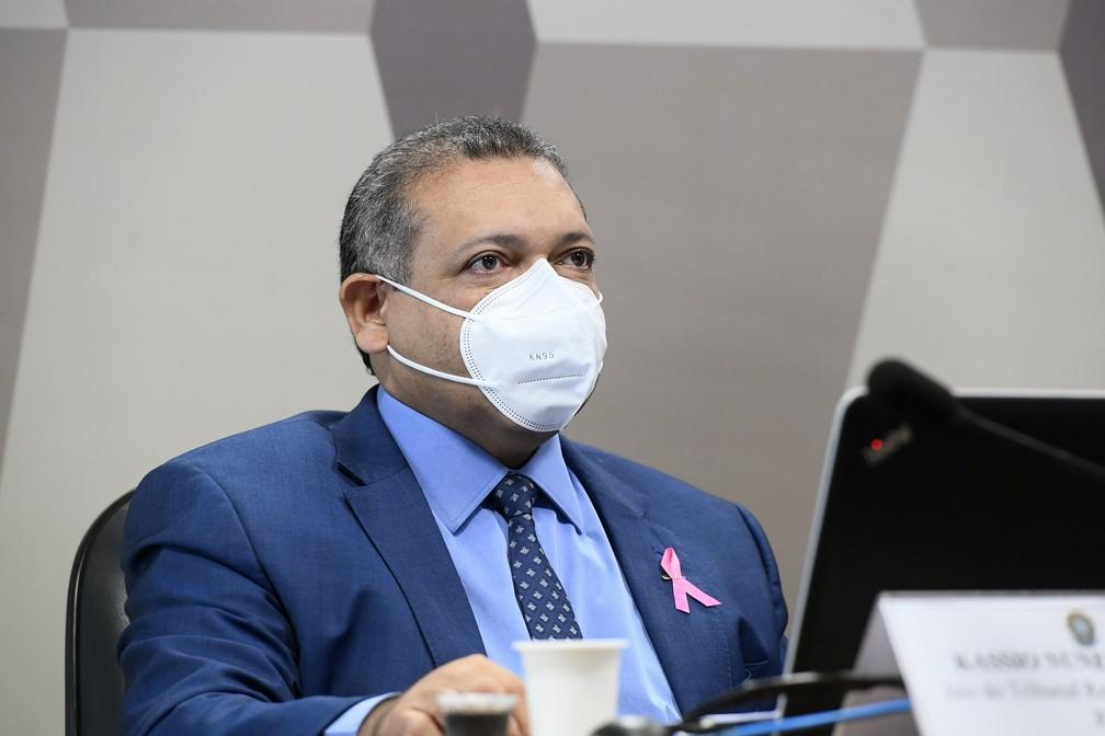 Kassio Nunes Marques — Foto: Marcos Oliveira/Agência Senado
