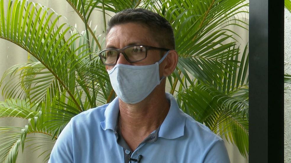 Márcio Falcão, pai de Jonathan Henrique — Foto: Reprodução/TV Cabo Branco