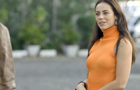Na quarta (26), depois de transar com Chiclete, Vivi (Paolla Oliveira) dirá que não vai ficar mais com ele Reprodução