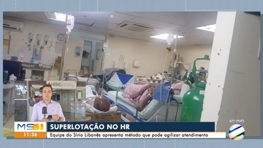 Equipe do hospital Sírio Libanês visita HR de Campo Grande para prestar consultoria