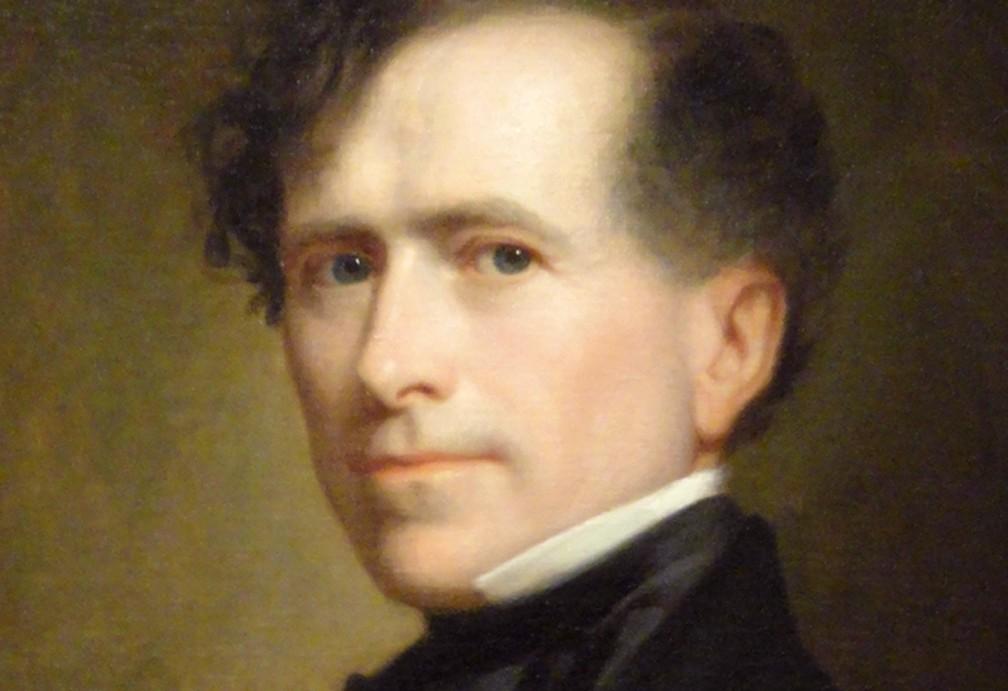 Pierce sofreu uma tragédia horrível pouco antes de sua posse, em 1853. O 14º presidente, sua esposa, Jane, e seu filho, Benjamin, estavam em um trem quando este descarrilhou — Foto: Casa Branca