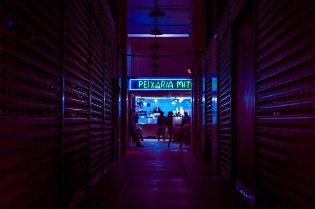 Fotógrafa brasileira transforma bairro de São Paulo em cenário de Blade Runner (Foto: Divulgação)