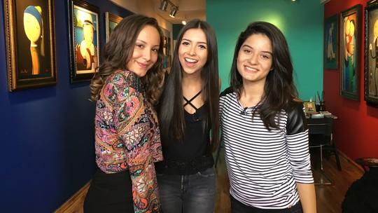 Ana Pieri e Clara Lima, do 'The Voice Kids', participam de desafio