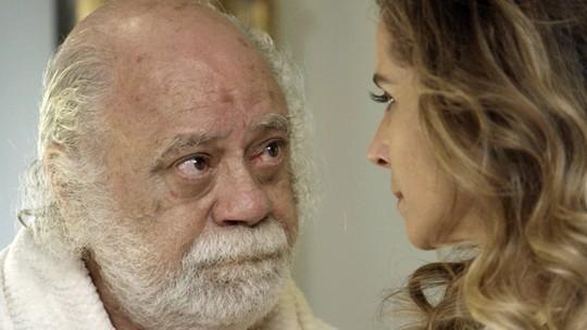 Tonico Pereira torce por romance entre Ascânio e Atena em 'A Regra do Jogo'