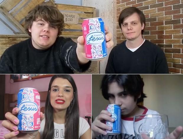 """No YouTube, fãs do Guaraná Jesus e """"sommeliers de refrigerante"""" ajudam a estimular a curiosidade sobre o refrigerante (Foto: Reprodução/YouTube)"""