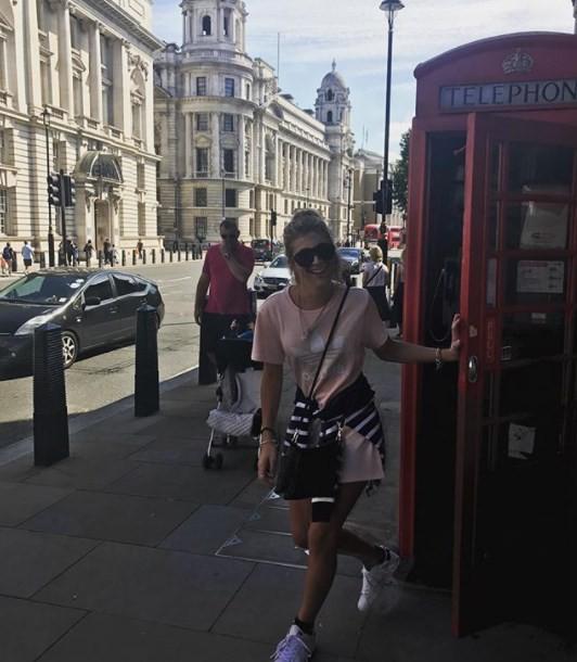 Toni Kelly em Londres