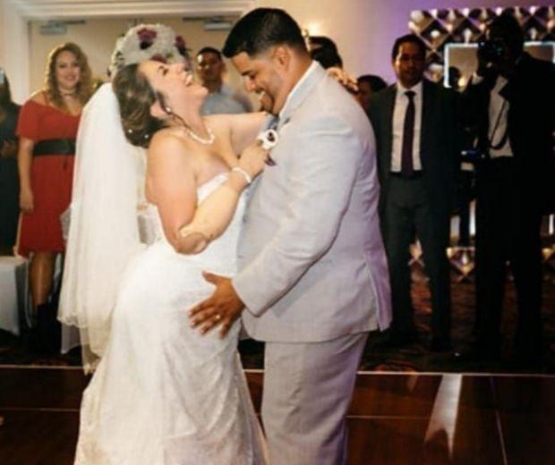 Frank Bordoy e Amanda Flores (Foto: Reprodução/Facebook )