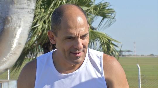 Professor Carlão se prepara para participar dos Jogos Latino-Americanos para transplantados