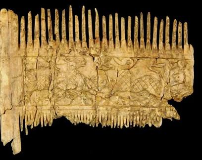 Hipster medieval? Morto há 1,5 mil anos foi enterrado com pente de barba