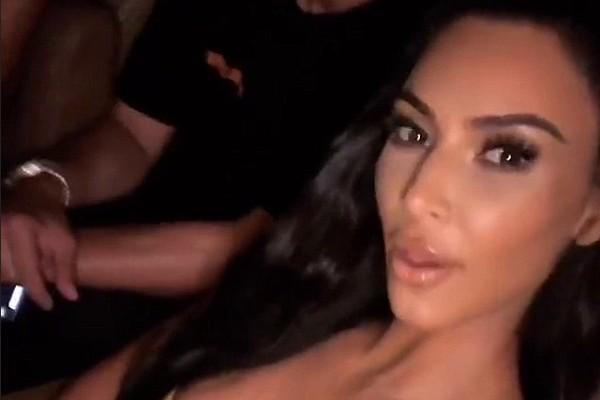 A socialite Kim Kardashian (Foto: Instagram)