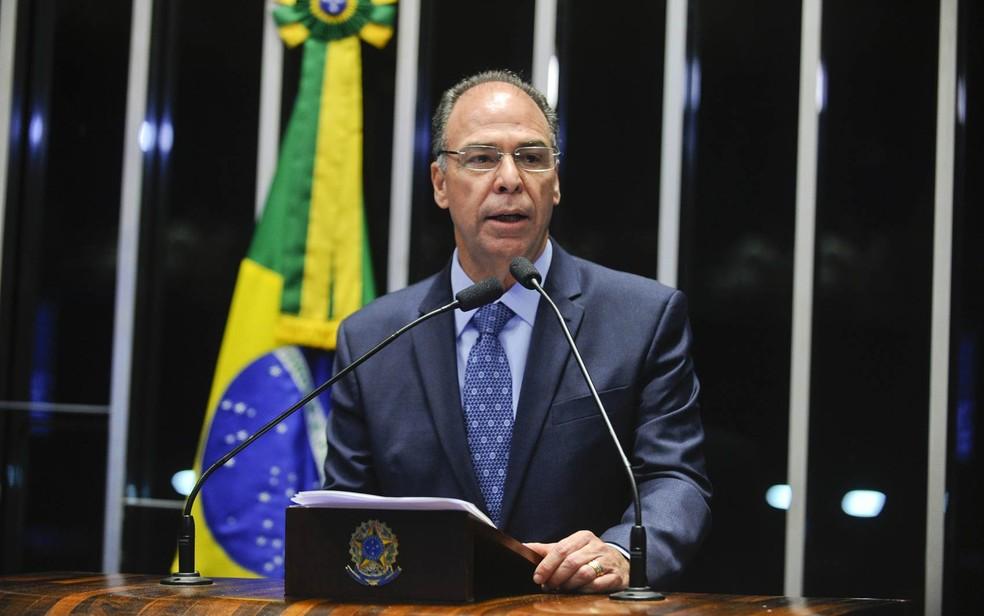 O senador Fernando Bezerra Coelho (MDB-PE)  (Foto: Marcos Oliveira/Agência Senado)