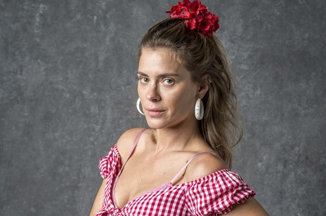 Carolina Dieckmann interpreta Afrodite (Foto: TV Globo)