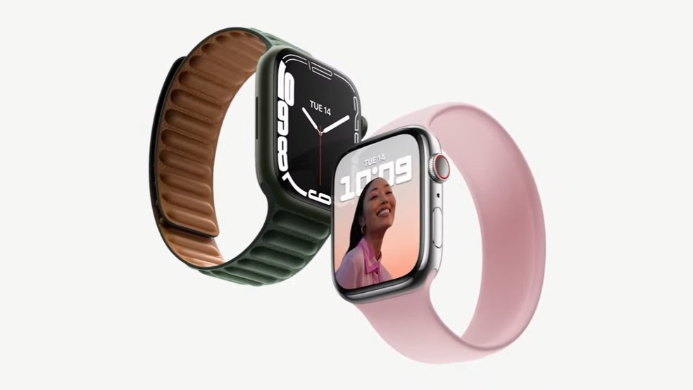 Apple Watch Series 7 — Foto: Reprodução/YouTube