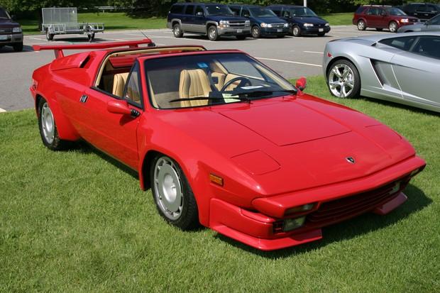 Lamborghini Jalpa era um modelo mais barato que o Countach (Foto: Wikicommons/Reprodução)