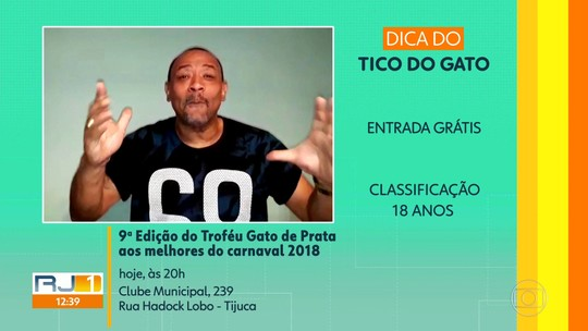 Dicas de casa: Troféu Gato de Prata para os melhores do Carnaval 2018