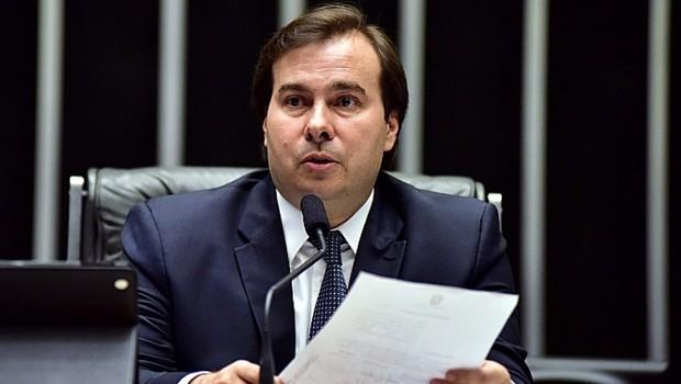 O presidente da Câmara Rodrigo Maia (DEM-RJ) (Foto: Cleia Viana/Agência Câmara)