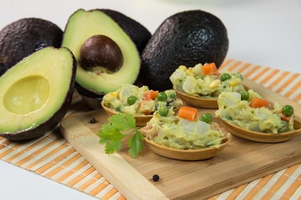 Barquetes de Abacate com Legumes (Foto: Divulgação)