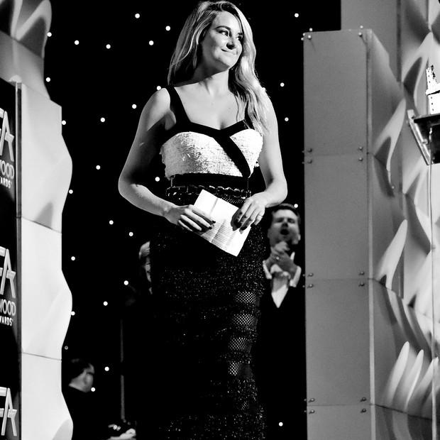 Shailene no Hollywood Film Awards de 2017 (Foto: Getty Images)