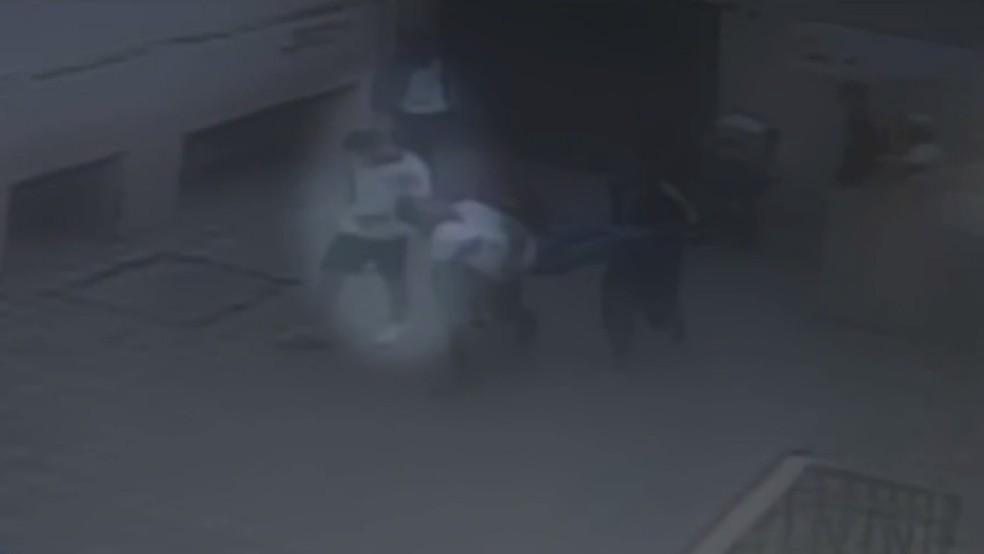 Aluno é agredido em escola tradicional de BH; colega suspeito do crime está preso — Foto: Reprodução/TV Globo