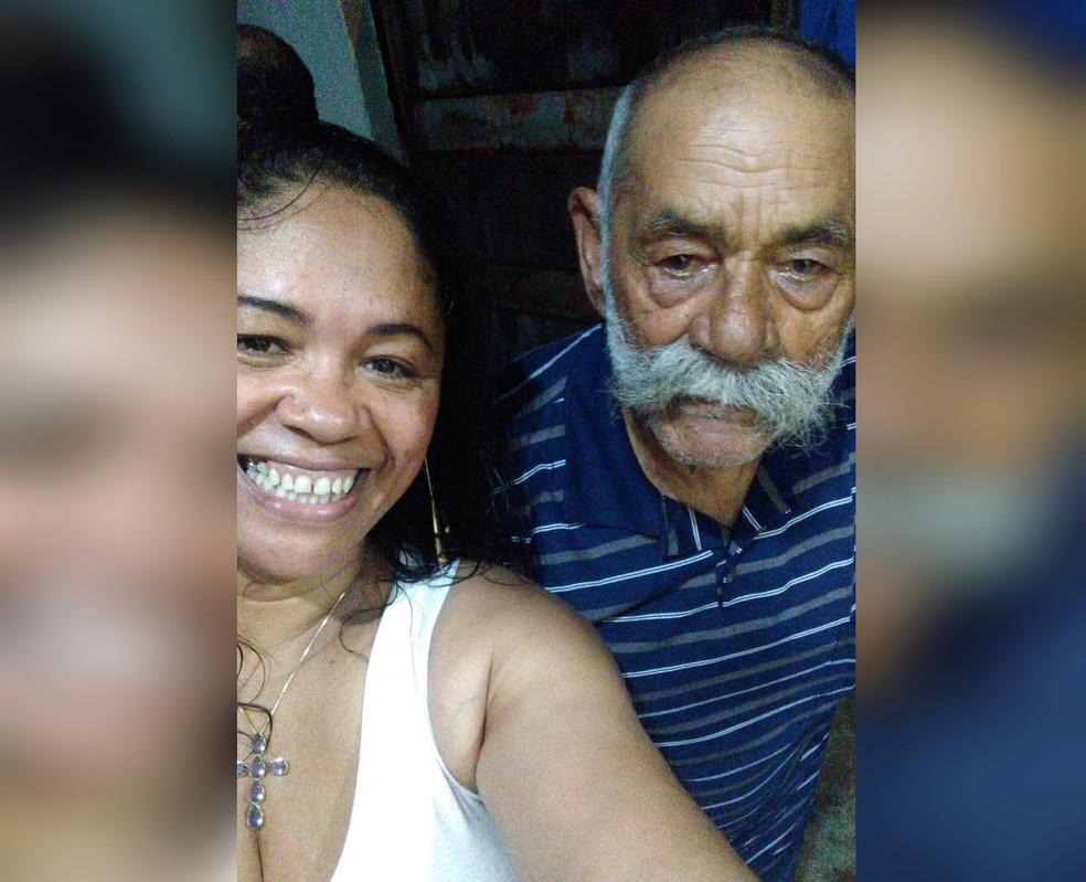 Pai de mulher encontrada morta sob viaduto em Tietê morreu de Covid em janeiro — Foto: Michael Douglas Almeida Matos/Arquivo pessoal