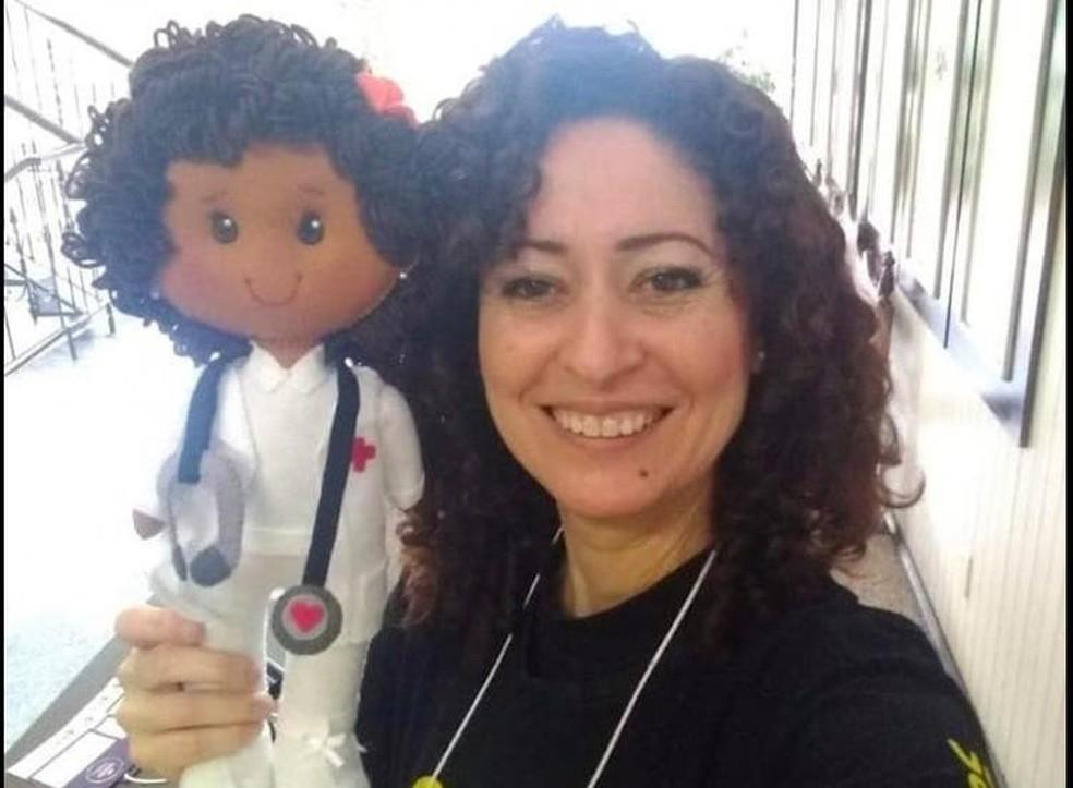Técnica de enfermagem atuava no Hospital São José desde março de 2020. — Foto: NSC TV/Divulgação