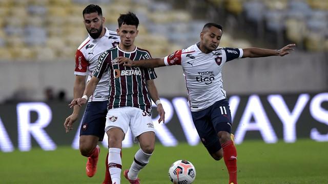 Gabriel Teixeira teve atuação discreta contra o Cerro