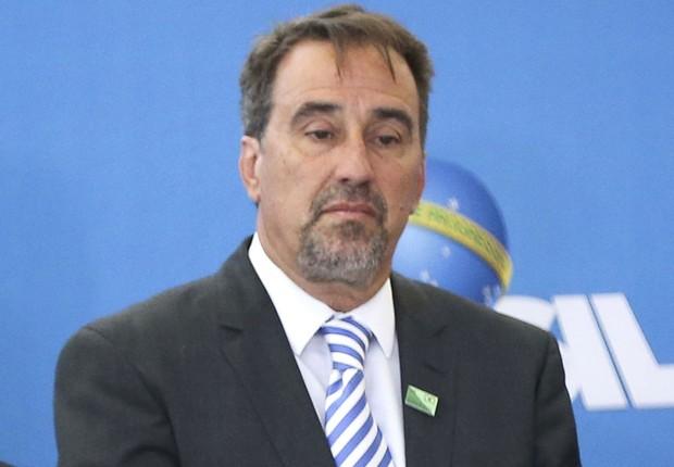 Gilberto Occhi toma posse como presidente da Caixa Econômica Federal em Brasília (Foto: Marcelo Camargo/Agência Brasil)