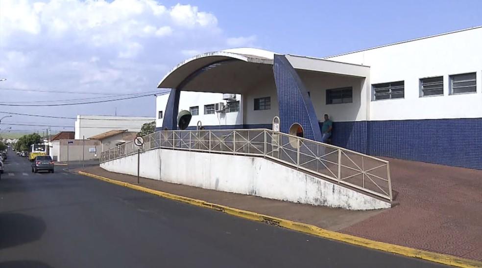 Santa Casa de São Joaquim da Barra, SP — Foto: Reprodução/EPTV