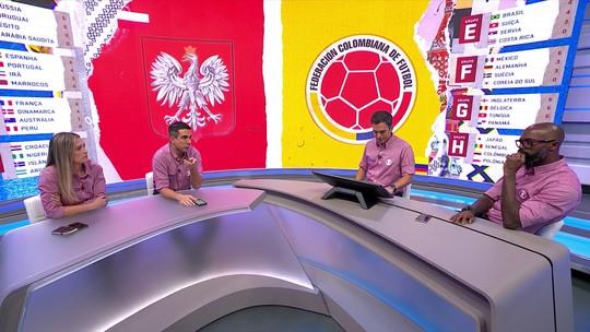 Bancada debate sobre a melhor geração da seleção colombiana