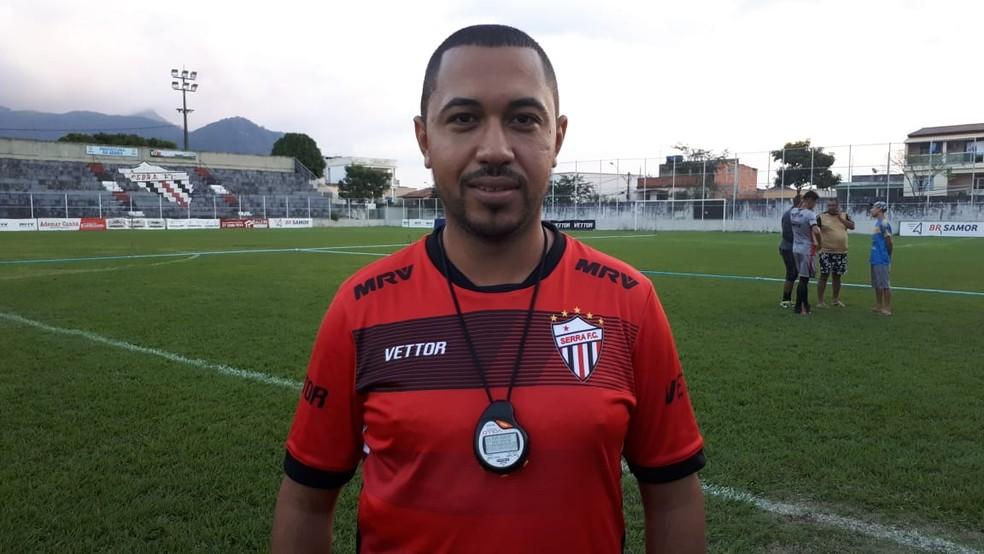 Wallace Pessanha, preparador físico do Serra (Foto: Richard Pinheiro/GloboEsporte.com)