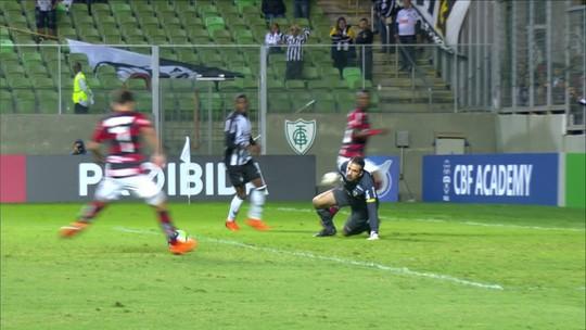 Gol de Éverton Ribeiro garantiu a vitória e a liderança do Fla; veja