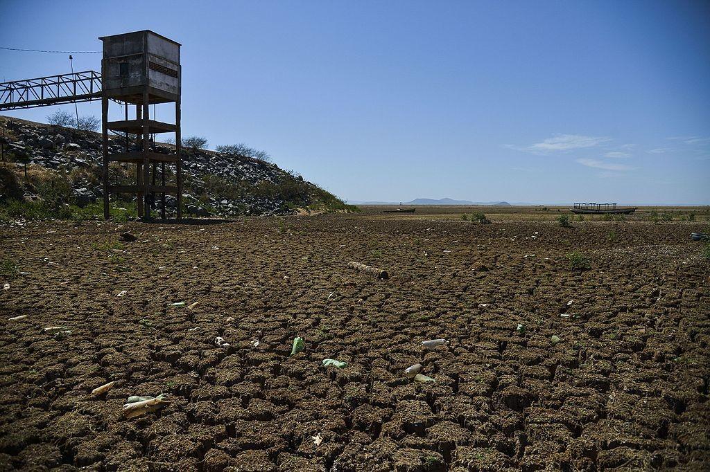 Registro da seca em Sobradinho (BA) (Foto: Wikimedia Commons)