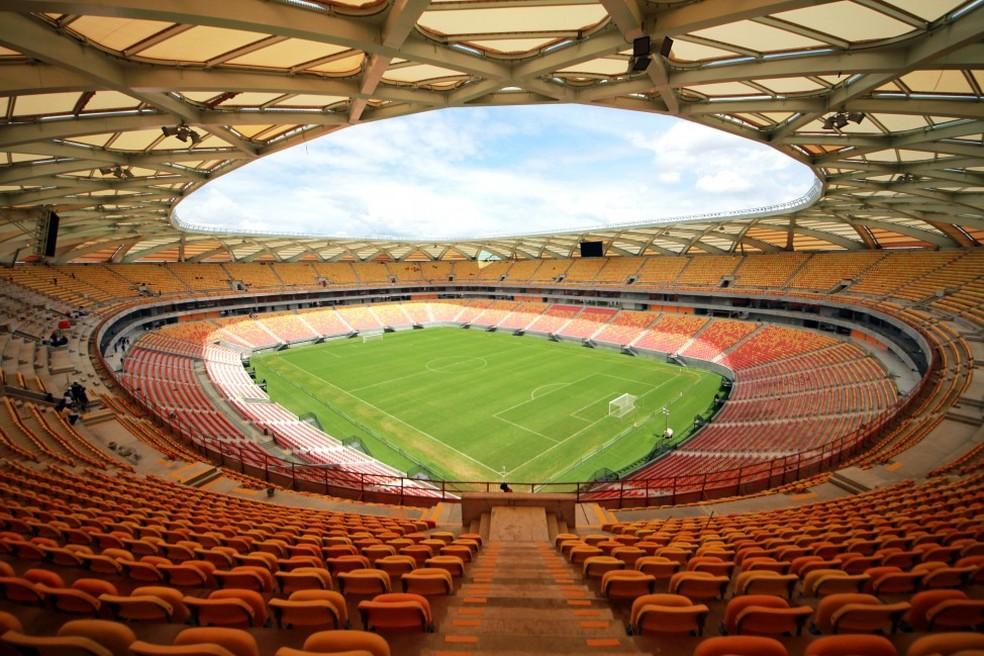 4f4f5ac028ae9 Arena da Amazônia atinge custo mensal de R  1 milhão