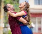 Mariana Ximenes e Malvino Salvador em cena de 'Haja coração' | Fabiano Battaglin/Gshow