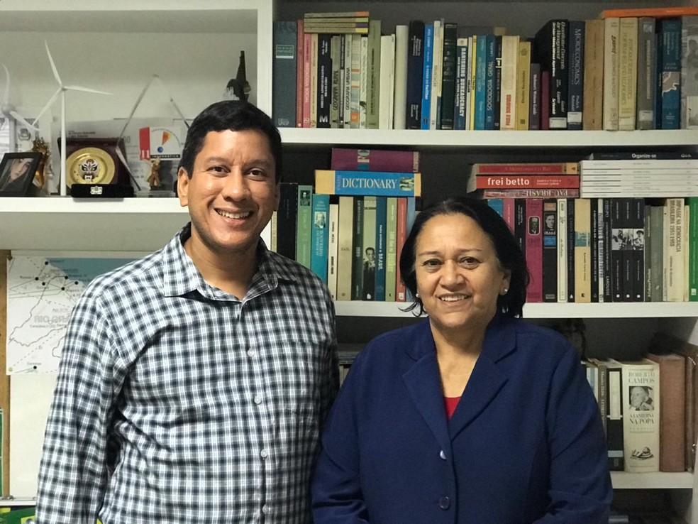 Leonlene Aguiar é anunciado pela governadora eleita Fátima Bezerra para o Idema — Foto: Divulgação