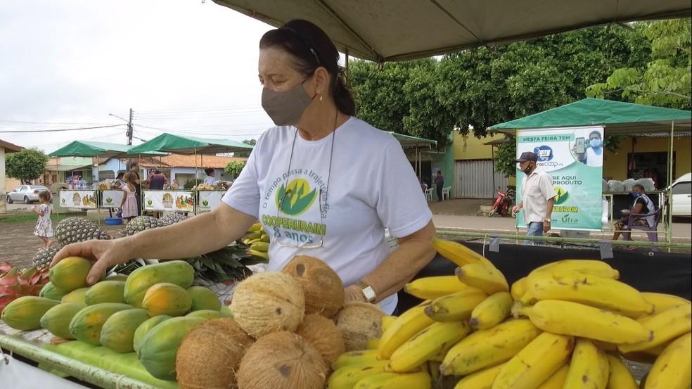 Agricultora da Cooperativa dos Produtores Rurais de Paragominas (Coopruraim). — Foto: Divulgação