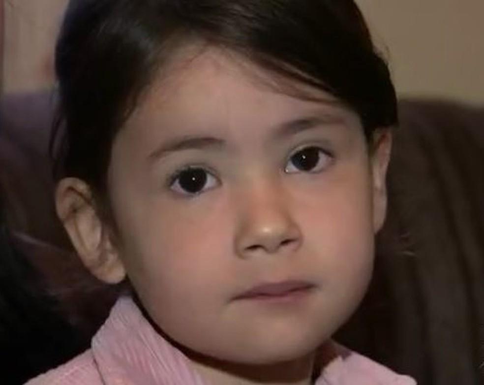 Suspeita é que Emanuelly foi morta pelos pais em Itapetininga (Foto: Reprodução/TV TEM)