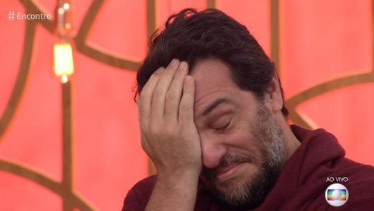 Rodrigo Lombardi se emociona com recado do filho sobre amor