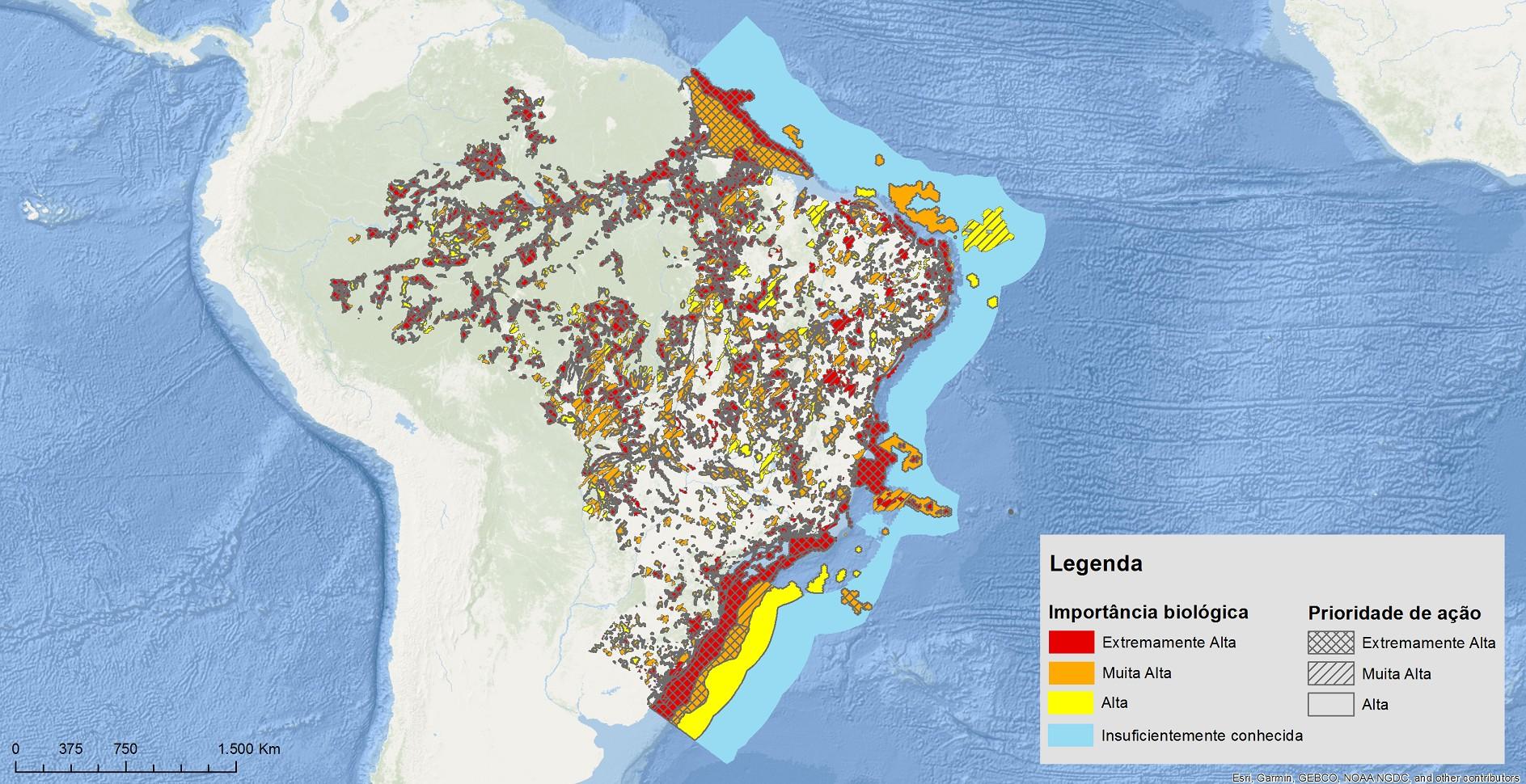 Site do Ministério do Meio Ambiente com mapas de áreas prioritárias de conservação volta ao ar - Notícias - Plantão Diário