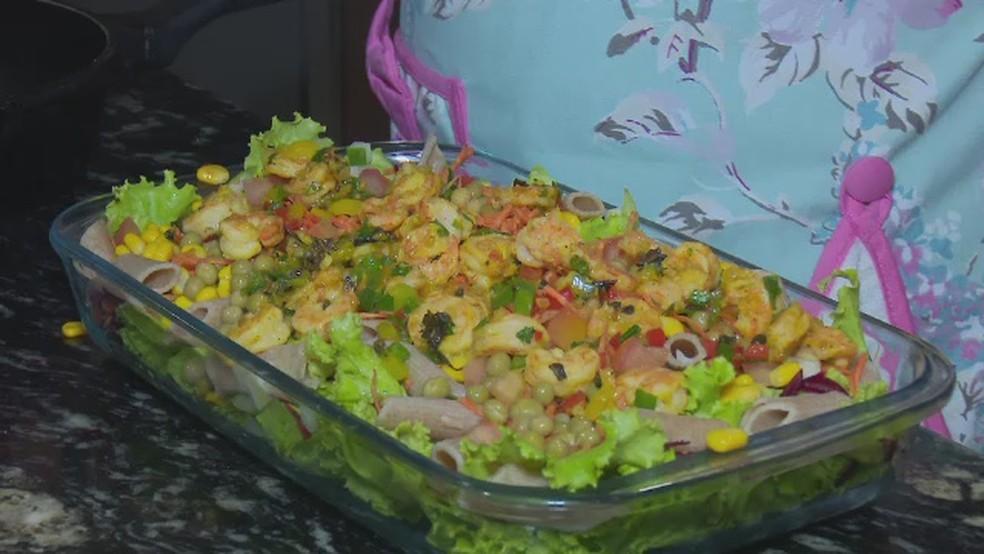 -  Salada Prime é opção saudável e nutritiva nas refeições  Foto: Reprodução/Rede Amazônica