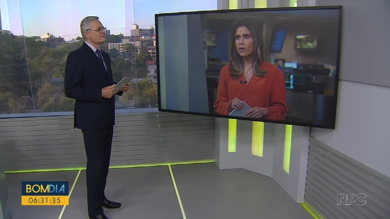 Telespectador pergunta sobre frota de ônibus em Curitiba