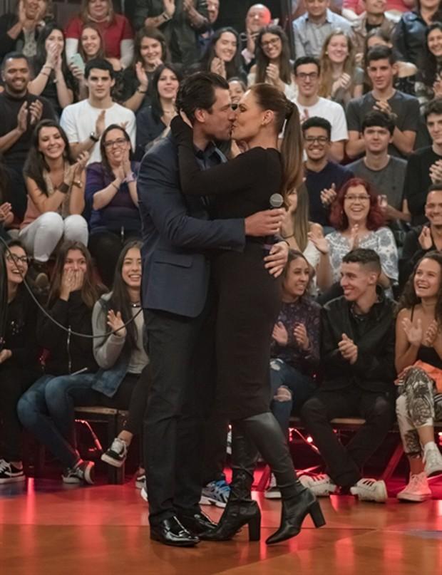 Laura Muller e Ricardo Ferreira (Foto: Tomás Arthuzzi/TV Globo)