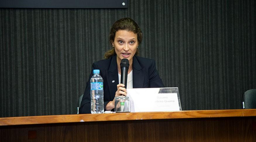 A presidente do IBGE, Susana Cordeiro Guerra