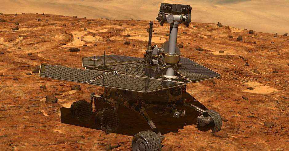 Opportunity está sem responder há semanas devido à forte tempestade de areia em Marte. Engenheiros da NASA acreditam que uma playlist poderá acordá-la de seu sono profundo (Foto: NASA/JPL-Caltech)
