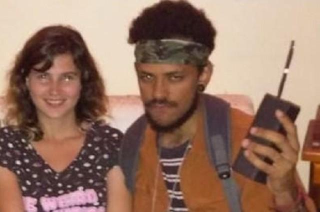 Valentine Fontanella e João Luiz Pedrosa (Foto: Arquivo pessoal)